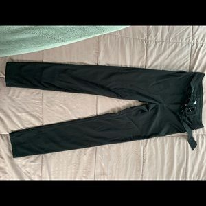 H&M black high rise skinny jeans